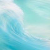 Конспект ломая волны Стоковое фото RF