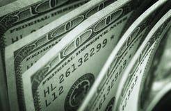 Конспект 100 долларов американца Стоковое Изображение