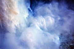 конспект падает водопад вашингтона snoqualme стоковое фото