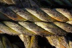 Конспект параллельных веревочек Стоковые Фотографии RF