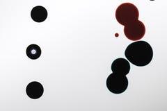 конспект падает вектор чернил grunge Стоковые Изображения RF