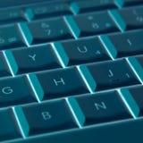 конспект пользуется ключом компьтер-книжка Стоковые Фотографии RF