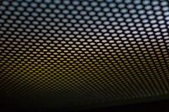 Конспект поставил точки черно-белая текстура в полезном металла материальное для предпосылки Стоковые Изображения RF