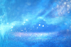 Конспект под предпосылкой моря с верхним слоем и textu яркого блеска Стоковая Фотография