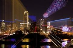 Конспект сигнала городского Даллас, Техаса стоковое фото
