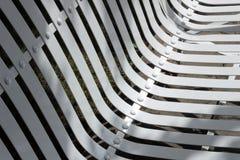Конспект стендов в парке осени стоковые фото