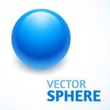 Конспект сферы вектора с текстом Стоковое Фото