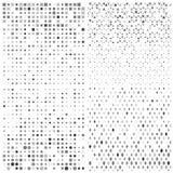 Конспект с треугольниками также вектор иллюстрации притяжки corel Стоковые Фотографии RF