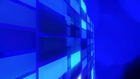 Конспект технологии голубой освещает предпосылки Стоковое фото RF
