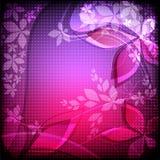 Конспект цветет иллюстрация Стоковое Изображение RF
