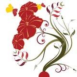 Конспект цветет предпосылка стоковые фото