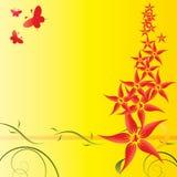 Конспект цветет предпосылка стоковые фотографии rf