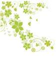 Конспект цветет предпосылка стоковое изображение