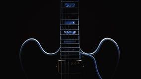 Конспект электрической гитары стоковая фотография rf