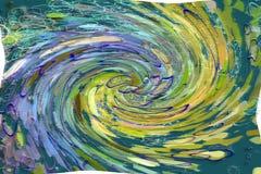 Конспект Grunge, грубых или ретро иллюстраций предпосылки, overlay текстура влияния фильтра Концепция, цвет, splats & дистресс бесплатная иллюстрация
