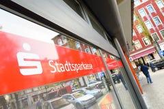 Конспект Stadtsparkasse Стоковое Изображение RF