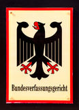 Конституционный Суд федеральная Германия Стоковое Изображение RF