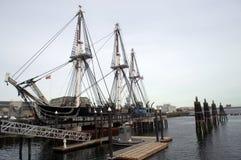 Конституция военного корабля USS ` s страны самая старая Стоковые Изображения