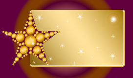 Конструированная звезда Стоковое Изображение RF
