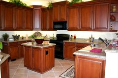 конструированное добро кухни Стоковое Изображение RF
