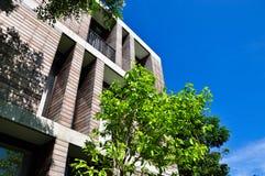 конструированное здание Стоковое Фото