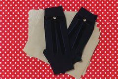Конструированные носки шерстей hadmade Стоковое Изображение