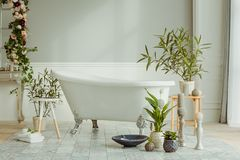 конструированный тип комнаты домашнего интерьера живя ретро стоковая фотография rf