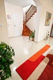 конструированный тип комнаты домашнего интерьера живя ретро Стоковые Изображения RF
