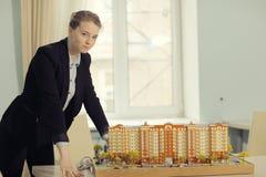 Конструировать дом жилища Стоковые Изображения