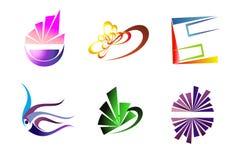 конструирует символы vector ваше Стоковое Изображение RF