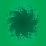 конструируйте зеленый halftone Стоковые Изображения RF