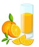 Конструируйте знамя шаблона, плакат, smoothies апельсина значков Иллюстрация апельсинового сока выпивает меня Свеже сжиманное тро иллюстрация штока