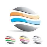 конструируйте логос Стоковые Фотографии RF