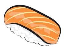 конструируйте суши ресторана меню элемента salmon полезные очень Стоковая Фотография