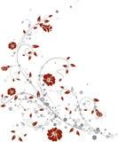 конструируйте флористическое Стоковое Изображение RF