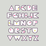 Конструируйте шрифт для плакатов, названия, типографские составы Стоковая Фотография RF