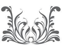 конструируйте элементы флористические Стоковые Изображения