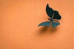 Конструируйте для стены, белых бабочек, конспекта, творческого Стоковое фото RF