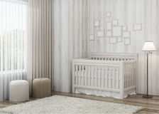 Конструируйте child& x27; комната s с яркими тоннами Стоковое фото RF