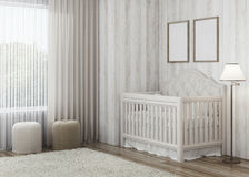 Конструируйте child& x27; комната s с яркими тоннами Стоковая Фотография