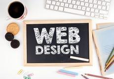Конструктивная схема веб-дизайна стоковое изображение