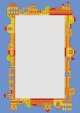 Конструктор пластмассы ребенка Стоковое Фото