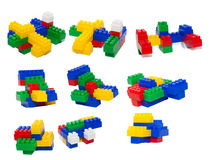 конструктор s цвета детей Стоковое Изображение