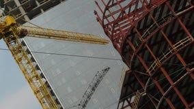 конструкции города здания стоковое фото rf