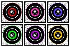 конструкции круга установили Стоковая Фотография RF