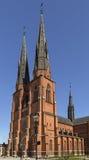 1270 1435 конструкций собора закончили начатую работу uppsala Стоковые Фото