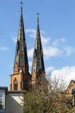 1270 1435 конструкций собора закончили начатую работу uppsala Стоковое Изображение
