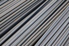 Конструкционные материалы стальных штанг Стоковые Изображения