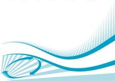 конструкция абстрактной предпосылки голубая Стоковое Фото
