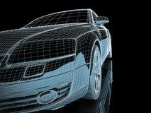 конструкция автомобиля Стоковые Фото